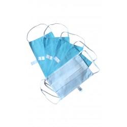 Masques de protection lavables Coloris Bleu (Lot de 5)