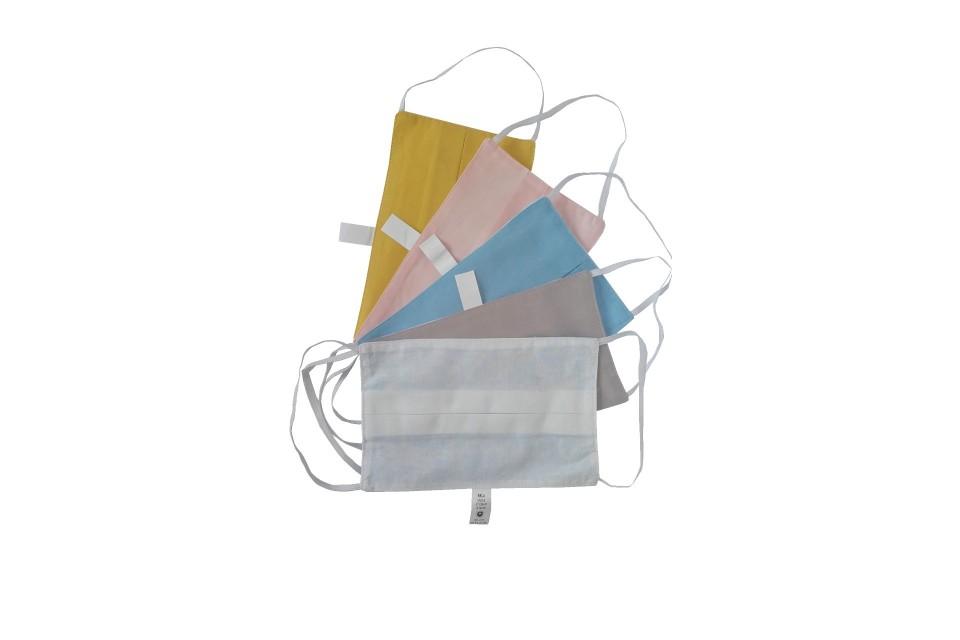 Lot de 5 masques de protection lavables à usage non sanitaire