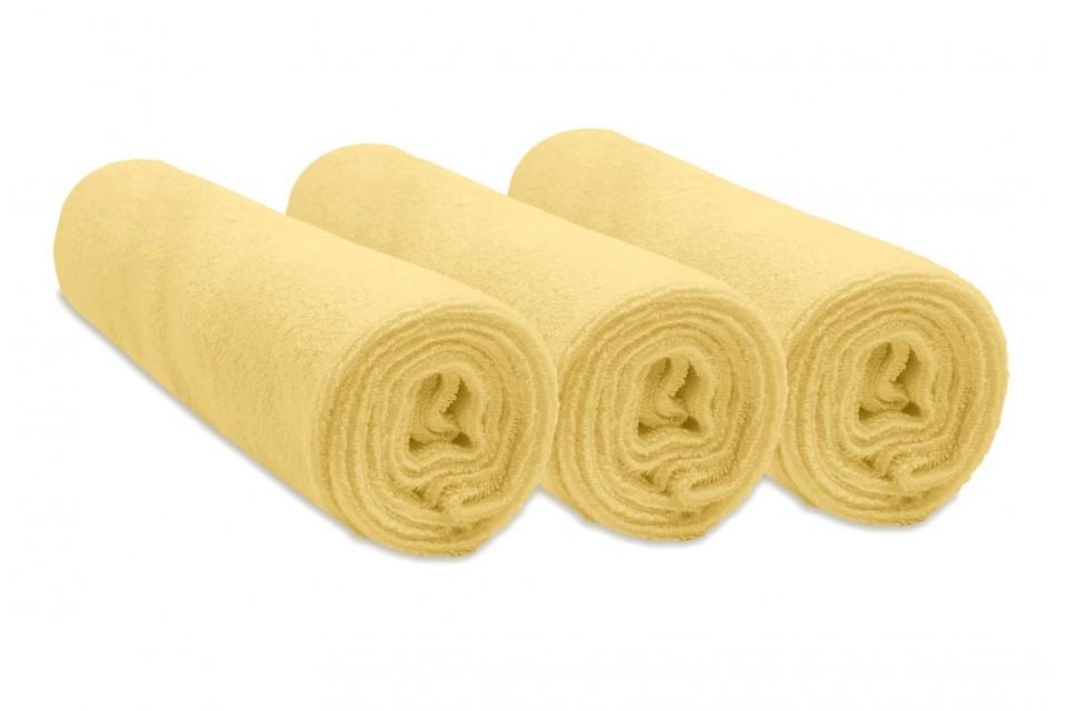 Lot de 3 housses pour matelas à langer 50x70 cm