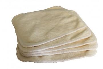 Lingettes lavables bambou (Lot de 5)